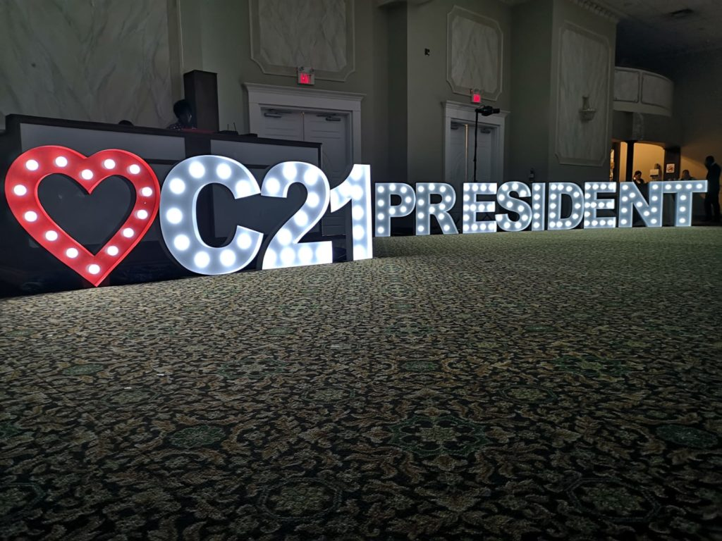 real estate century 21 marquee letter